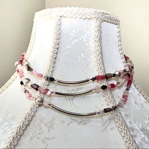 ColdWater Creek Multi Layer Beaded Necklace